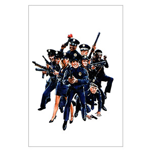 Police Academy. Размер: 20 х 30 см